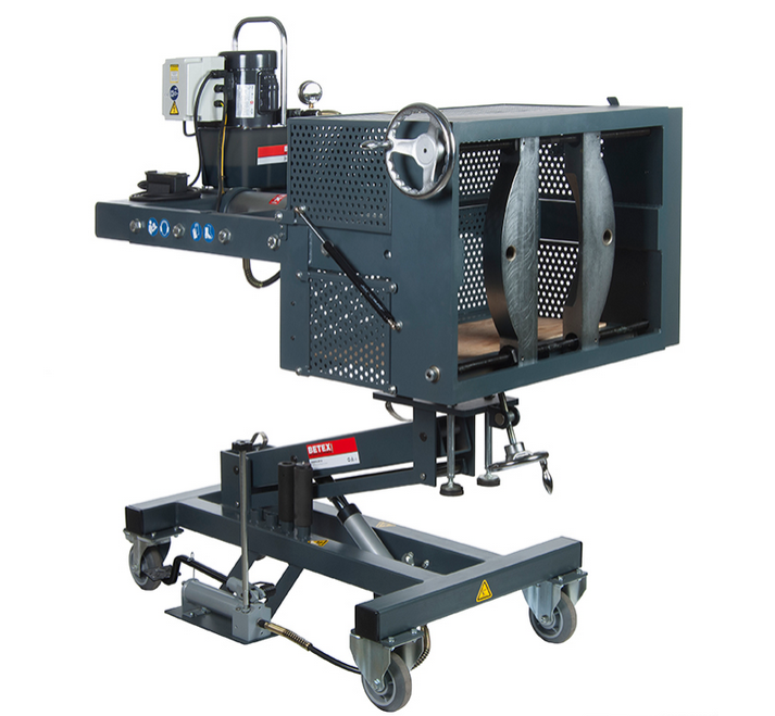 Mobile Hydraulic Puller : Betex mobipuller tons